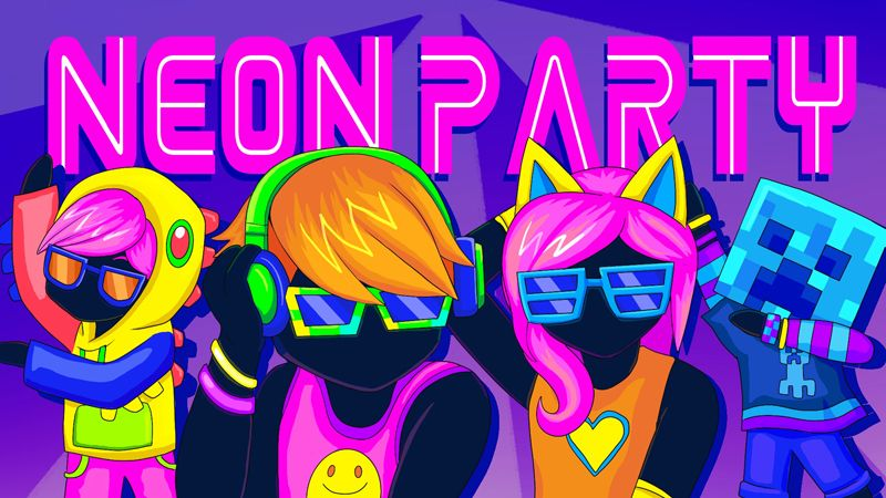 Neon Party on the Minecraft Marketplace by BBB Studios