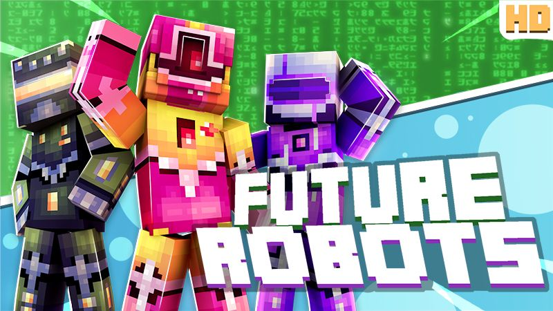 Future Robots on the Minecraft Marketplace by Norvale