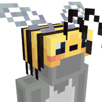 Bee Hat on the Minecraft Marketplace by Hourglass Studios