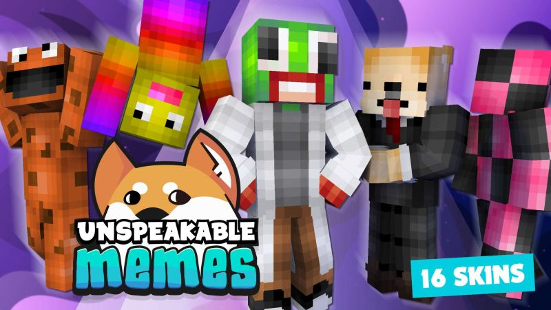 Unspeakable Memes on the Minecraft Marketplace by Meatball Inc