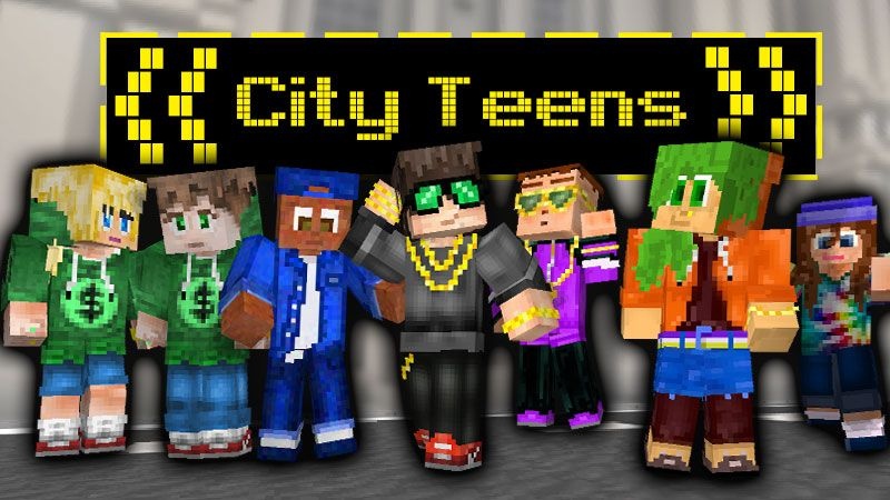 City Teens on the Minecraft Marketplace by Wandering Wizards