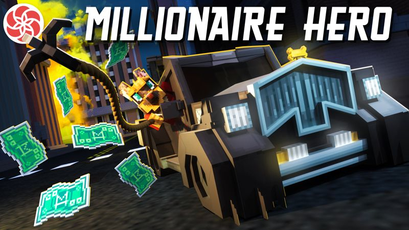 Millionaire Hero on the Minecraft Marketplace by Everbloom Games