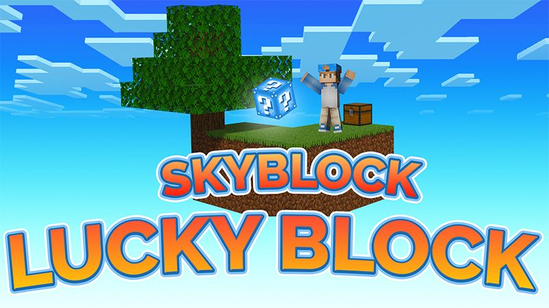 Skyblock Lucky Blocks on the Minecraft Marketplace by ChewMingo