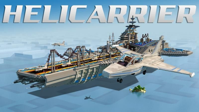 Helicarrier on the Minecraft Marketplace by RareLoot
