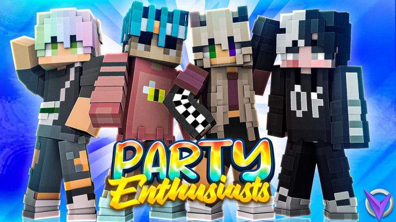 Party  Enthusiasts on the Minecraft Marketplace by Team Visionary