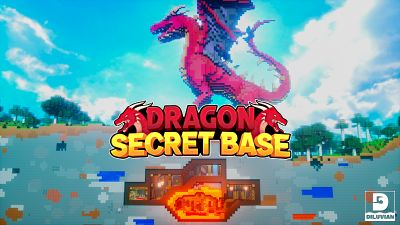 Dragon Secret Base on the Minecraft Marketplace by Diluvian