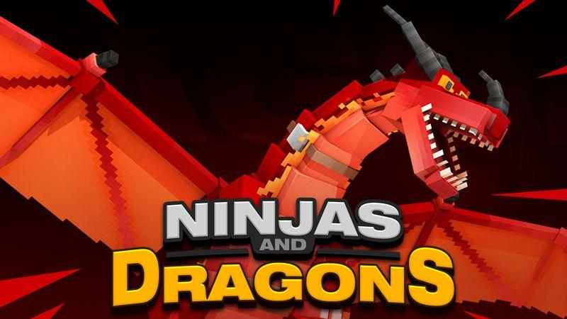 Ninjas and Dragons on the Minecraft Marketplace by HorizonBlocks