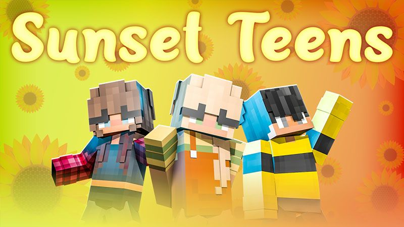 Sunset Teens on the Minecraft Marketplace by Odyssey Builds