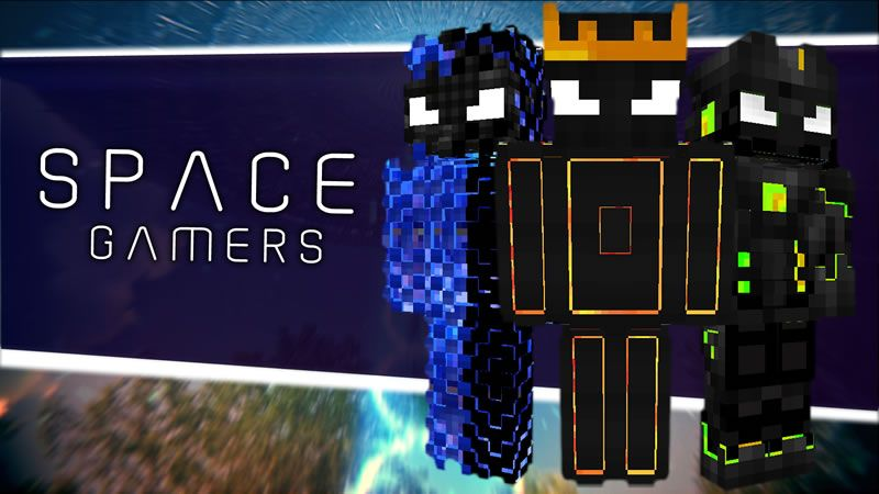 Space Gamers on the Minecraft Marketplace by CanadaWebDeveloper