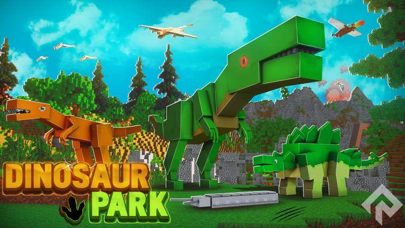 Dinosaur Park on the Minecraft Marketplace by RareLoot