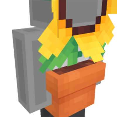 Sunflower Costume on the Minecraft Marketplace by Polymaps