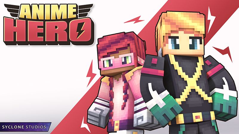 Anime Hero on the Minecraft Marketplace by Syclone Studios