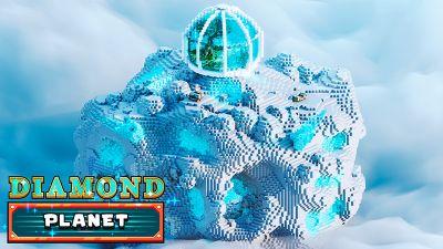 Diamond Planet on the Minecraft Marketplace by Odyssey Builds