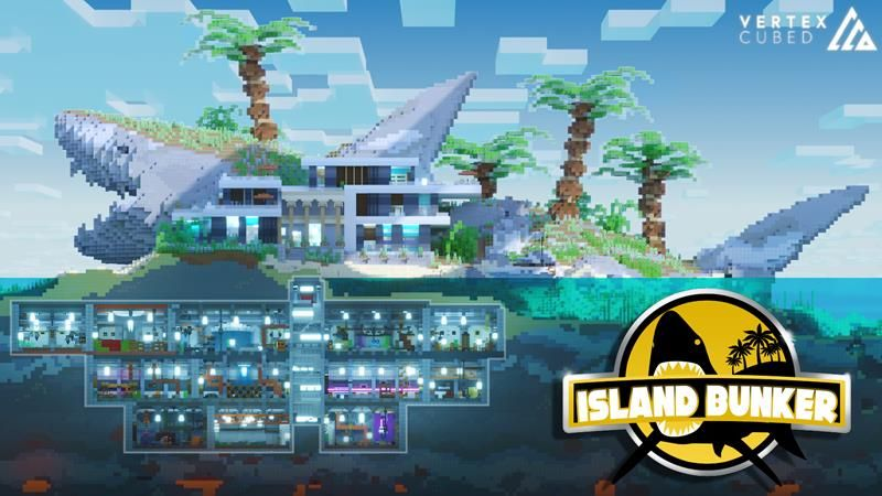 Island Bunker on the Minecraft Marketplace by Vertexcubed