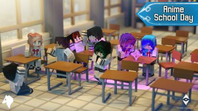Anime School Day on the Minecraft Marketplace by Team Visionary