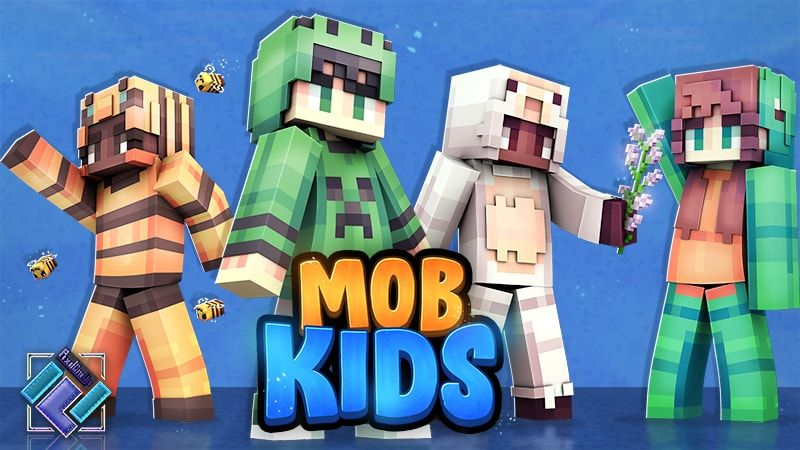 Mob Kids on the Minecraft Marketplace by PixelOneUp