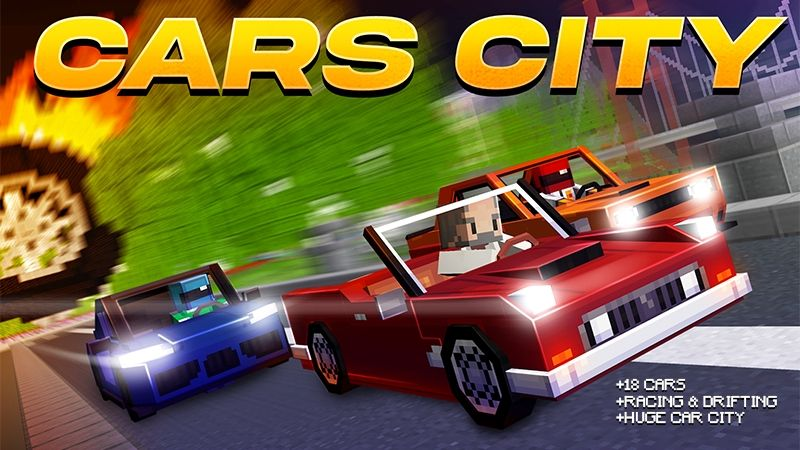 Cars City on the Minecraft Marketplace by Kubo Studios