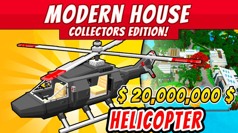 Modern House Collectors on the Minecraft Marketplace by VoxelBlocks