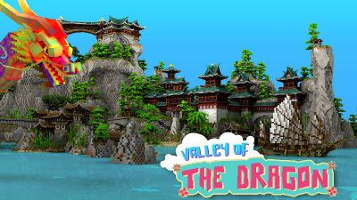 Valley of the Dragon on the Minecraft Marketplace by Impulse