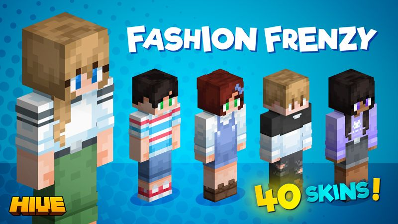 Fashion Frenzy on the Minecraft Marketplace by The Hive