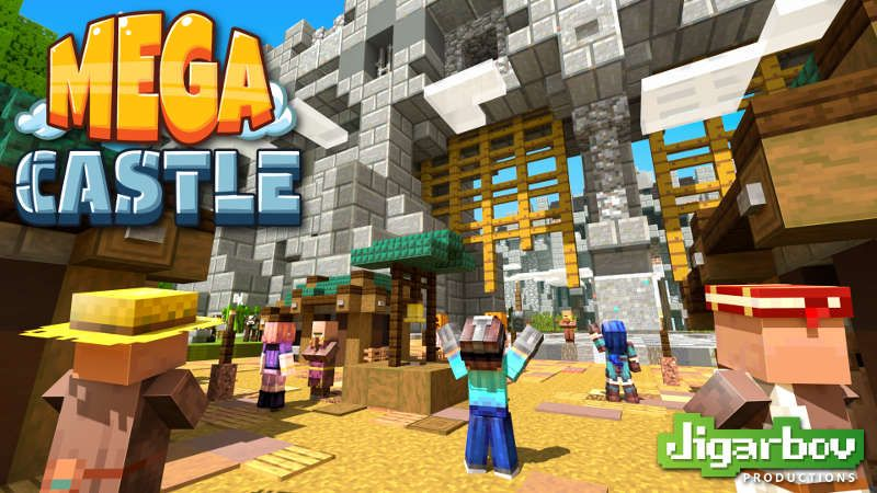 MEGA Castle on the Minecraft Marketplace by Jigarbov Productions