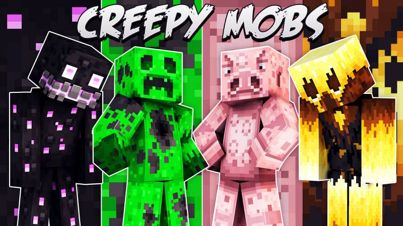 Creepy Mobs on the Minecraft Marketplace by 57Digital