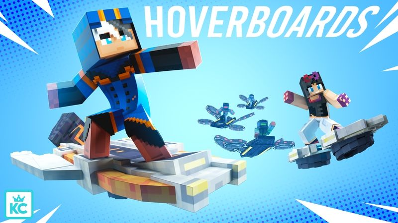 Hoverboards on the Minecraft Marketplace by King Cube