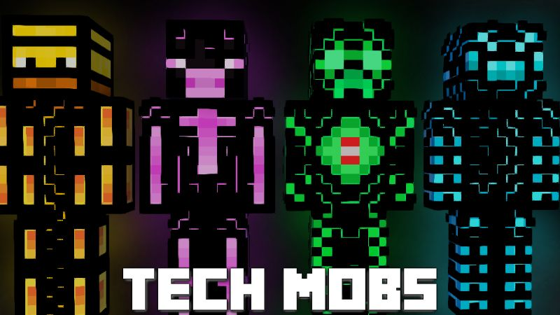 Tech Mobs on the Minecraft Marketplace by Pixelationz Studios