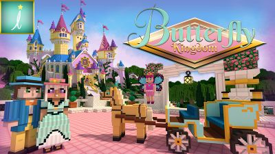 Butterfly Kingdom on the Minecraft Marketplace by Imagiverse