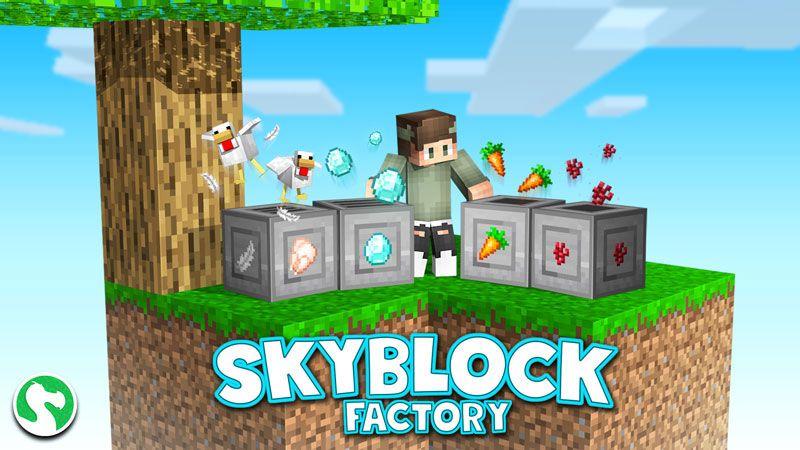 Skyblock Factory on the Minecraft Marketplace by Dodo Studios