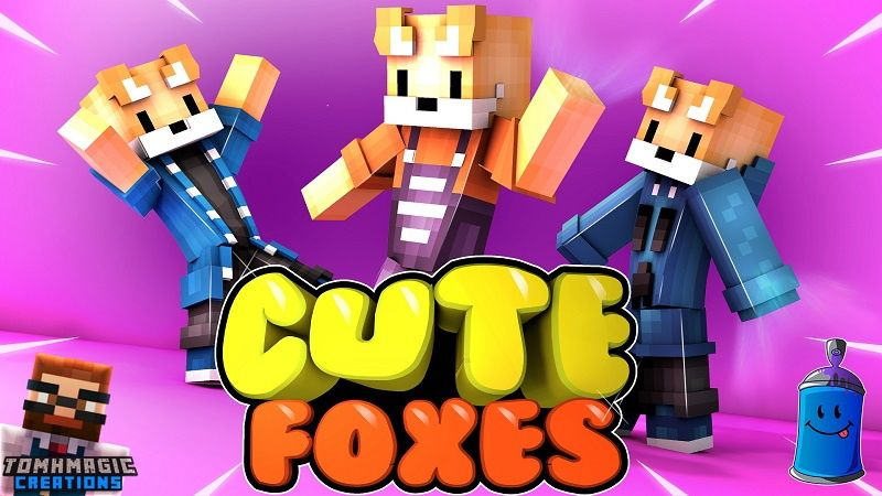 Cute Foxes on the Minecraft Marketplace by Tomhmagic Creations