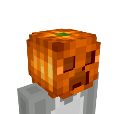 Pumpkin Creeper Head on the Minecraft Marketplace by Razzleberries