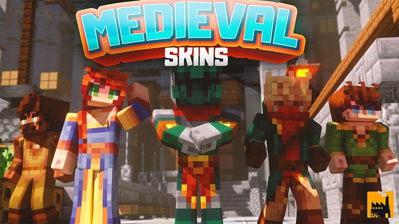 Medieval skins on the Minecraft Marketplace by Block Factory