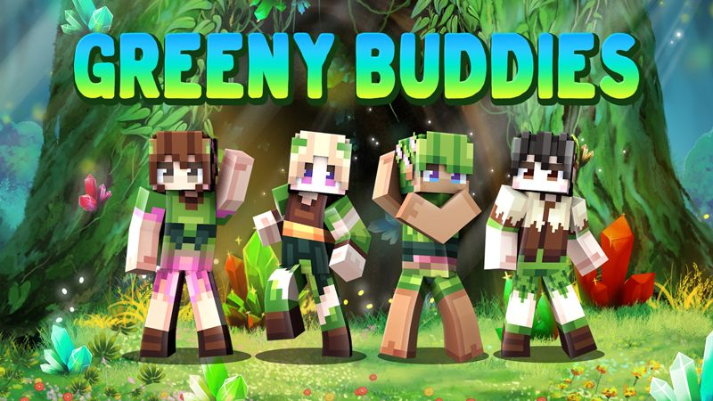 Greeny Buddies on the Minecraft Marketplace by Dark Lab Creations