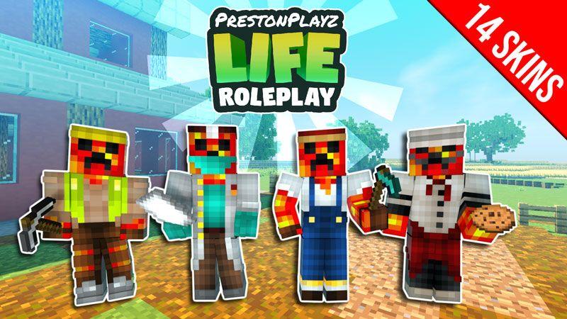 PrestonPlayz Life Roleplay on the Minecraft Marketplace by Meatball Inc