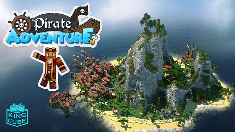 Pirate Adventure on the Minecraft Marketplace by King Cube