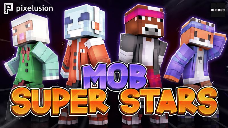 Mob Super Stars on the Minecraft Marketplace by Pixelusion
