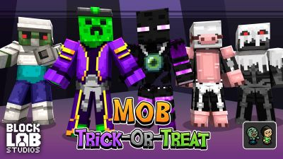 Mob TrickOrTreat on the Minecraft Marketplace by BLOCKLAB Studios