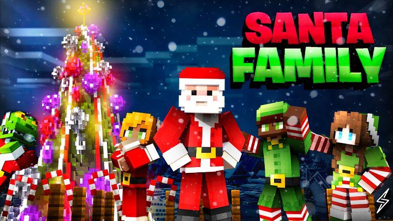 Santa Family on the Minecraft Marketplace by Senior Studios