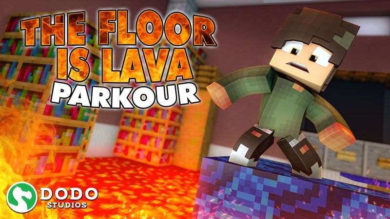 The Floor Is Lava Parkour on the Minecraft Marketplace by Dodo Studios