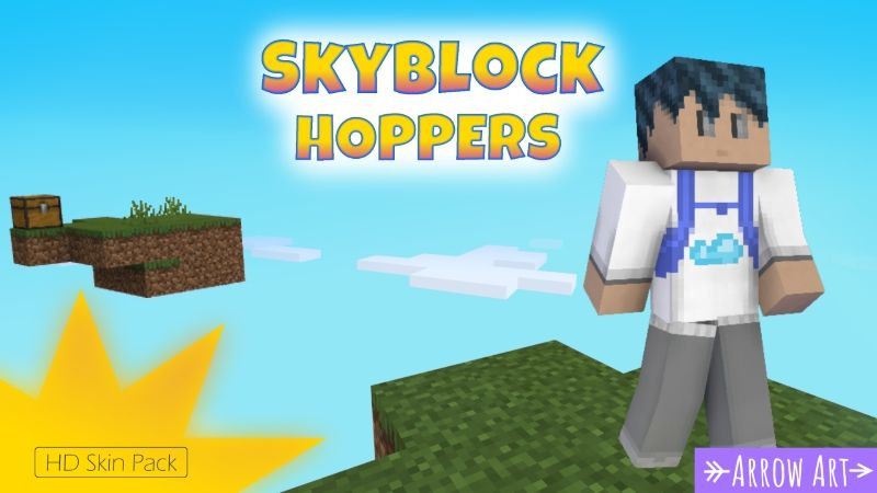 Skyblock Hoppers on the Minecraft Marketplace by Arrow Art Games