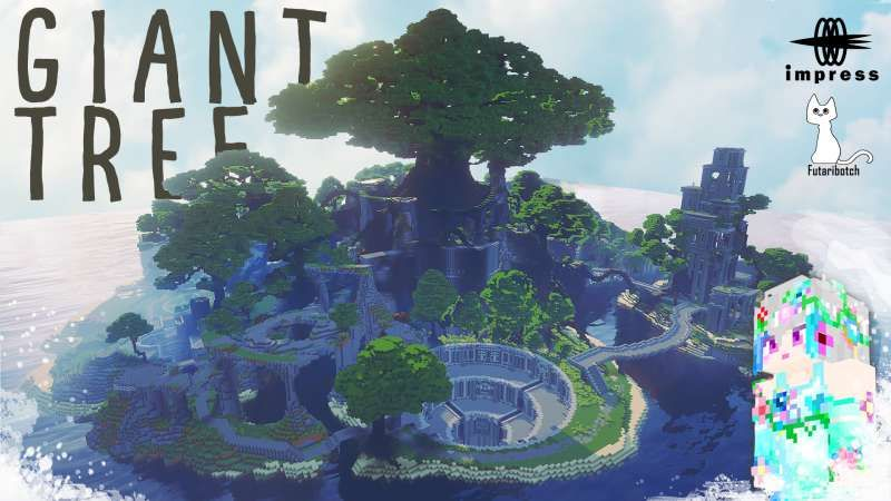 Giant Tree on the Minecraft Marketplace by Impress