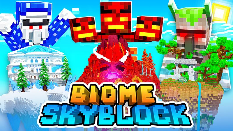 Biome Skyblock on the Minecraft Marketplace by HeroPixels