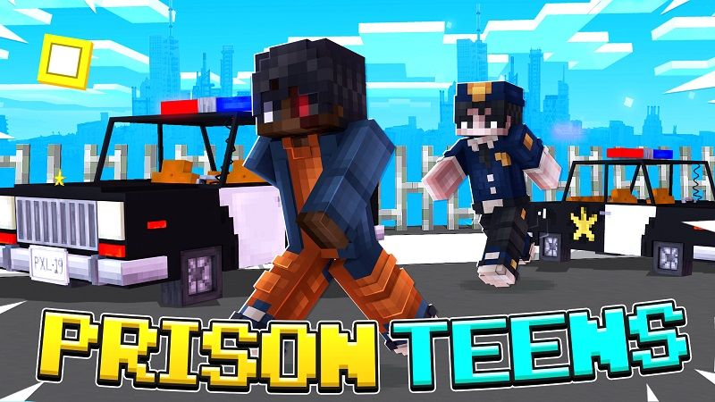 Prison Teens on the Minecraft Marketplace by Vertexcubed