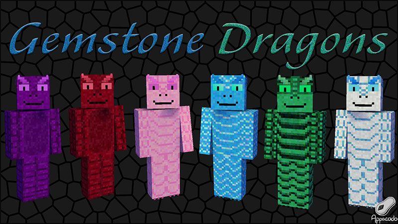 Gemstone Dragons HD on the Minecraft Marketplace by Appacado