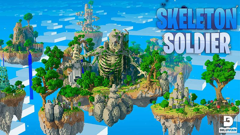 Sky Monster Skeleton Soldier on the Minecraft Marketplace by Diluvian
