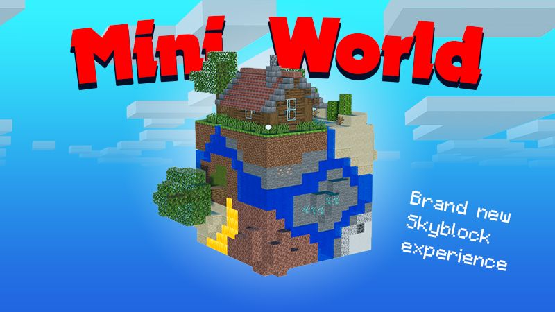 Mini World on the Minecraft Marketplace by Mine-North