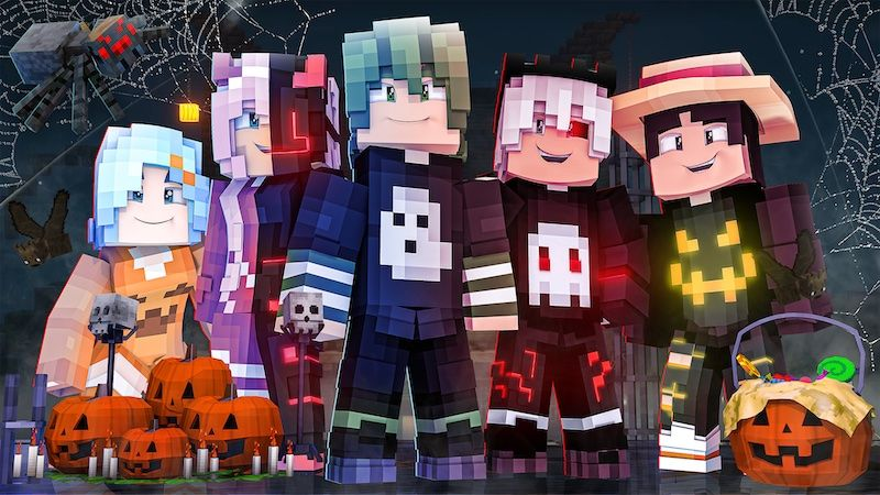 Spooky Anime on the Minecraft Marketplace by DogHouse