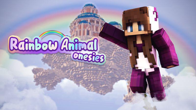Rainbow Animal Onesies