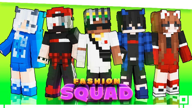 Fashion Squad on the Minecraft Marketplace by inPixel